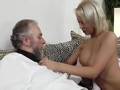 Indian Old daddy enjoy with his own daughter